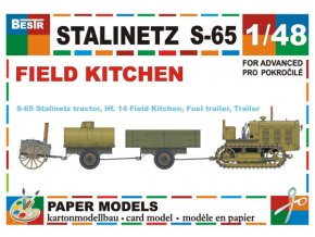 Stalinetz S-65 + Hf. 14 Field Kitchen