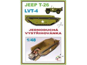 Jeep T-26 + LVT-4