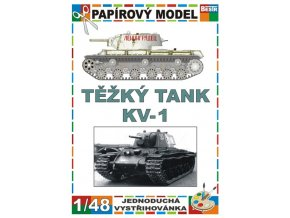 KV-1 - zimní verze