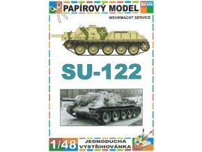 SU-122 Wehrmacht service