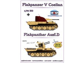 Flakpanzer V Coelian + Flak Panther AusF.D