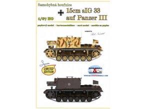 15cm sIG33 auf Panzer III (2x)