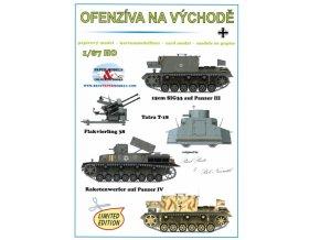 Ofenzívna na východě - 15cm SIG33 auf Panzer III, Flakvierling 38 4×2cm, Tatra T-18, Raketenwerfer auf Panzer IV