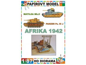 Matilda Mk.II + Panzer Pz. III J (Afrika / Africa 1942)