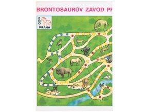 Brontosaurův závod pražskou Zoo