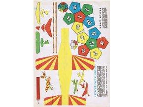 Letecké dny k MDD 66 + hrací kostka