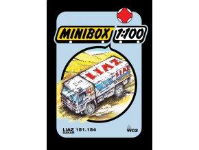 LIAZ 151.154 Dakar '89