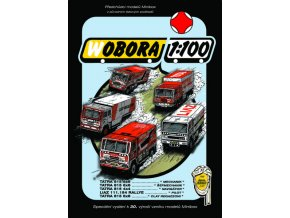 WOBORA 1989 - 5 dakarských soutěžních kamionů