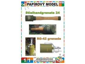 Stielhandgranate + RG-42 Granata (Granáty)
