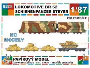 BR 52, Steyr Schwerer Schienen Panzer, Ssys 50t, Jagdpanther