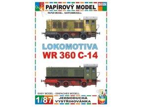 WR-360 - dieselová lokomotiva - 2 verze