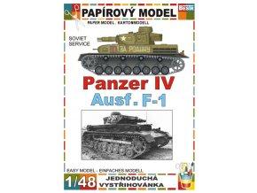 Panzer IV Ausf. F-1 - Soviet service