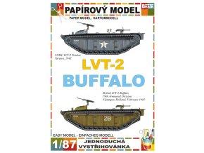 LVT-2 Tractor + LVT-2 Buffalo