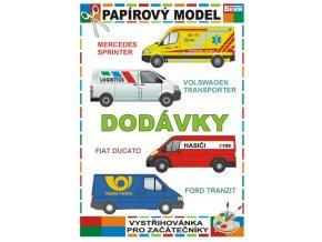 Dodávky (4 vozidla)