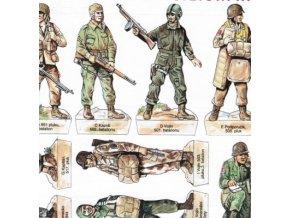 vojáci II.sv.v. - USA - výsadkáři