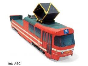 Tatra T3 - mazací tramvaj