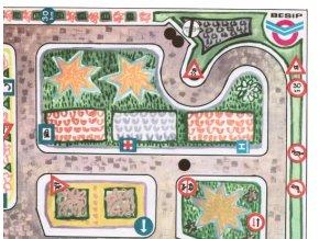 Jízda dětským dopravním hřištěm