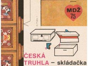 truhla k MDŽ (česká truhla)