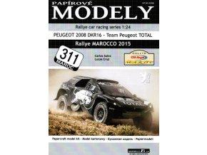 Peugeot 2008 DKR16 - Rallye Marocco 2015