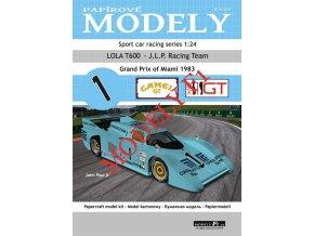 LOLA T600 - J.L.P. Racing Team