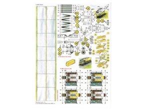 2x pojížděcí dráha + 4x MB cisterna LPH + Westland Sea King