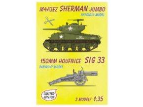 M4A3E2 Sherman Jumbo + SiG 33