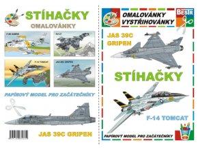 Jas 39C Grippen + F-14 Tomcat (Stíhačky)