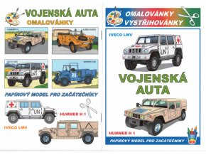 Iveco LMV + Hummer H1 (Vojenská auta)