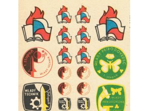 pionýrské odznaky...