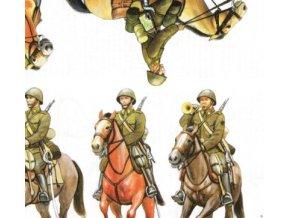 vojáci II.sv.v. - ČSR - jezdectvo