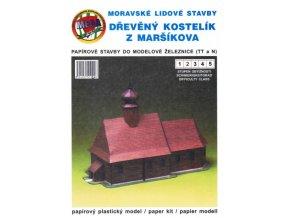 Dřevěný kostelík z Maršíkova
