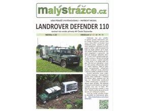 Land Rover Defender 110 + přívěs