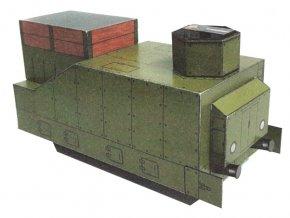 obrněný vlak - tendr