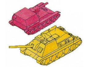 SU-76 M + SU-85