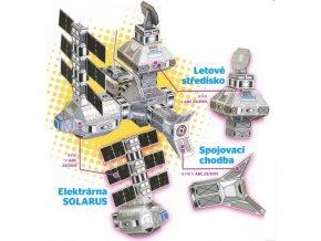 elektrárna Solarus, letové středisko a chodba