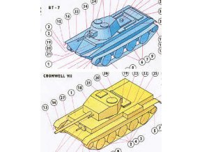 BT-7 + Cromwell VII