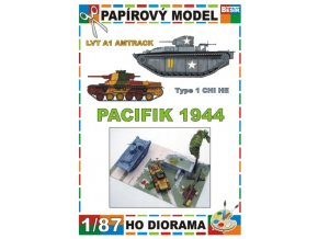 LVT A1 Amtrack + Type 1 CHI HE (Pacifik / Pacific 1944)