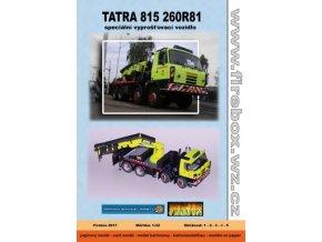 TATRA 815 260R81 - vyprošťovací vozidlo