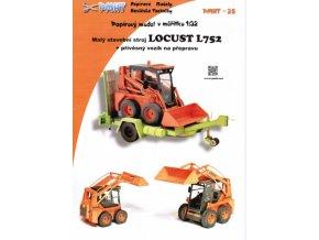 Locust L752 + přívěs na přepravu