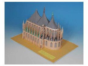 Kutná Hora - chrám Svaté Barbory