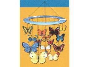 poletující motýli