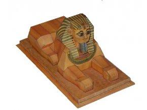 Velká sfinga a pyramidy v Gíze