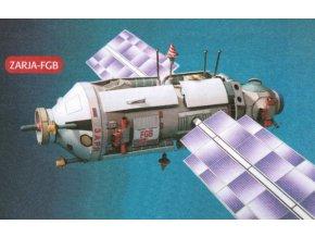 Zarja-FGB + fotovoltaické sluneční články (33 nosník)