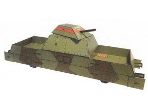 obrněný vlak - pancéřový vagon PL-43