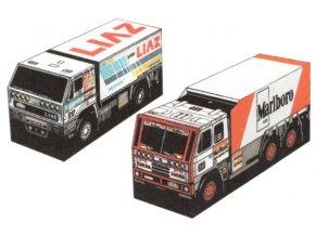 Liaz 111.154 Rallye Paris - Dakar + Tatra 815 6x6