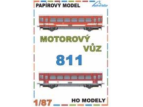 motorový vůz ř. 811