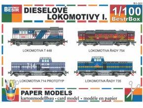 dieselové lokomotivy I.