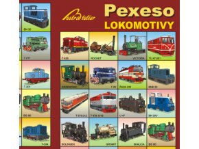 Pexeso - Lokomotivy