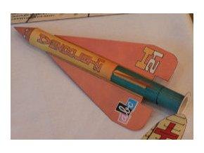 H 21 - foukací raketa