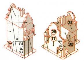 dům čp. 1 a 2